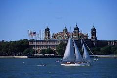 00130353 (wolfgangkaehler) Tags: usa newyork sailboat america island boat unitedstates unitedstatesofamerica american northamerica americas ellisisland historicplace northamerican historicbuilding immegration