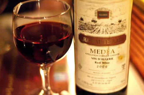 Algerian wine