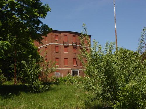 Abandoned state hospital bldg., Waltham MA