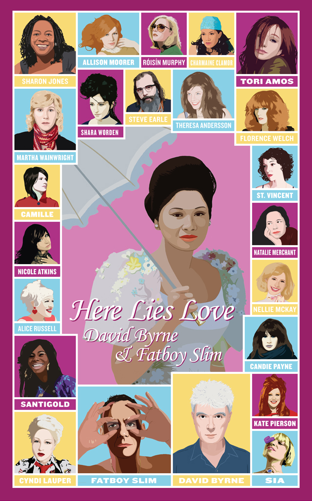 Here Lies Love Poster
