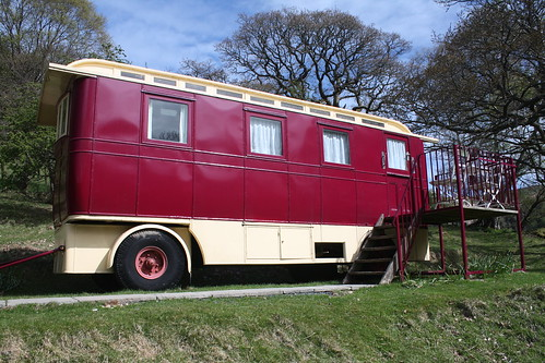 Showman's Waggon from the side