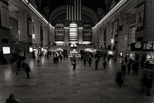 waiting @Grand Central Terminal - New York
