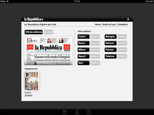 Immagini per recensione applicazioni iPad