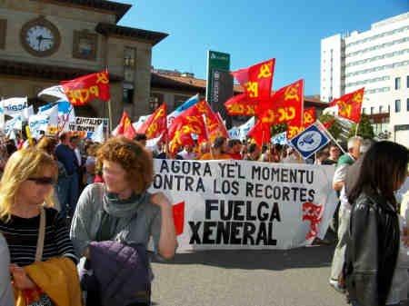 Comunicado y fotos:Asturies hacia la Huelga general 4624432097_e151948da0_o
