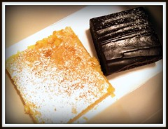 Je Taime Bakery lemon bar and brownie