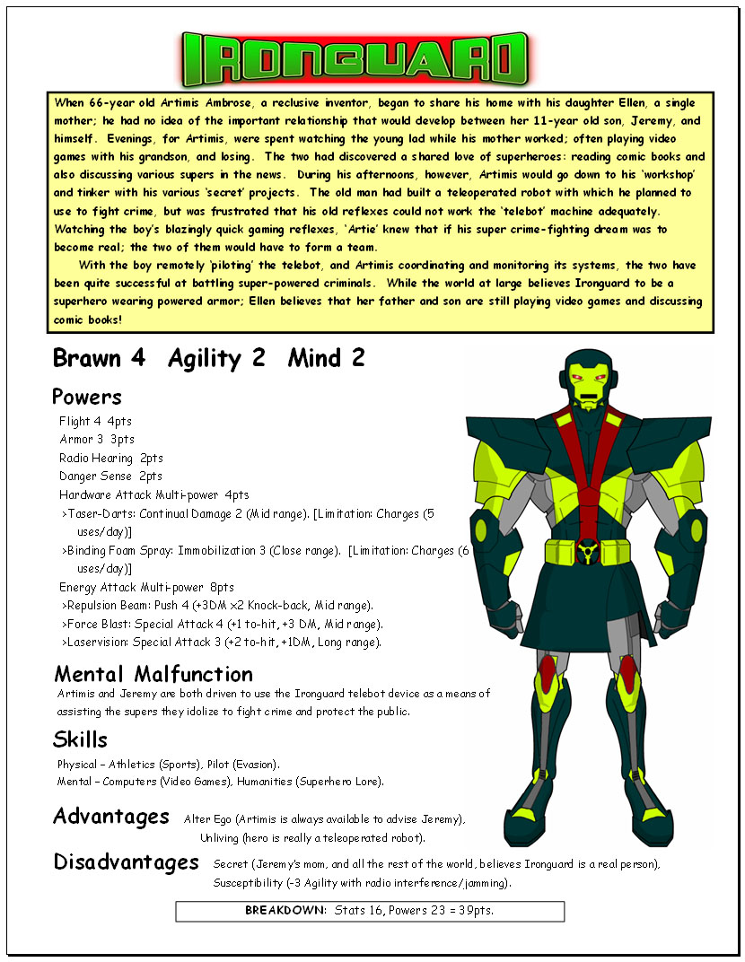 BASH! Ultimate Edition - Post Your Archetypes! [Archive] - Page 2 ...