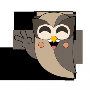 HootSuite Owl - Manga