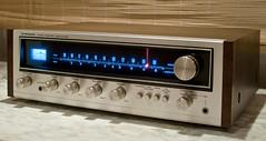 Pioneer SX434 (Imagonos) Tags: slr vintage nikon indoor dslr audio receiver hifi hdr ves audiophile d90 vintagehifi nikond90 d3000 dslrphotography afsdxnikkor35mm118g imagonos pioneersx434