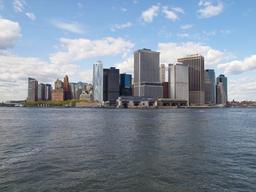 USA Trip - Lower Manhattan Skyline