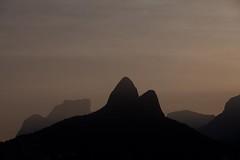 Pedra da Gavea & Morro Dois Irmaos (Joao_Paulo_Barbosa) Tags: mountain rio riodejaneiro landscape pedra morro montanha silhueta pedradagavea morrodoisirmaos