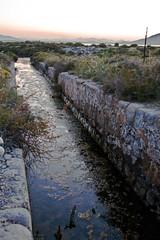 Canal toma de agua de las Salinas (ibzsierra) Tags: water canon canal agua salt salinas ibiza eivissa baleares digitalcameraclub 400d