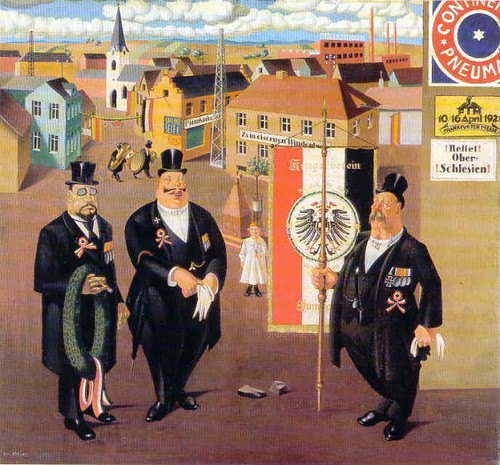 Georg Scholz, War Veterans, 1922