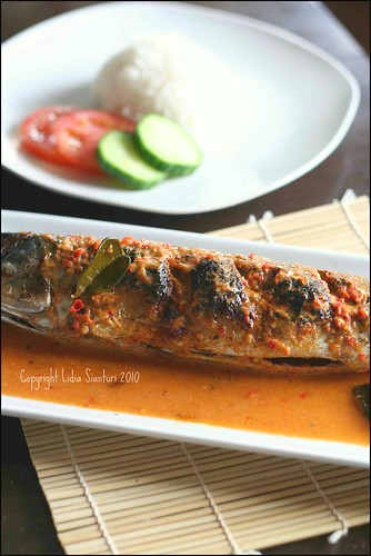 Grilled Fish with Spicy Coconut Milk Sauce3