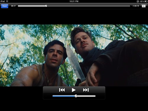 iPad Screenshot - Inglourious Basterds