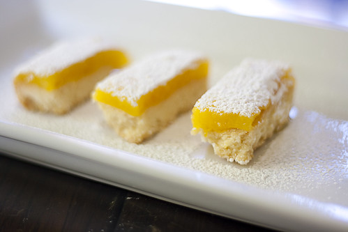 my fav lemon squares