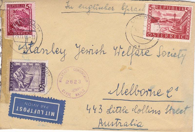 Zensurierte Bedarfspost nach Australien 4655103219_0b5c64af46_b