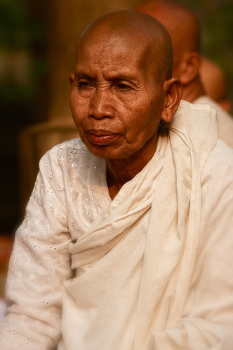 A Venerable Cambodian Nun