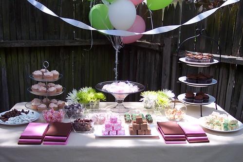 Dessert Table - Twins' 5th Birthday