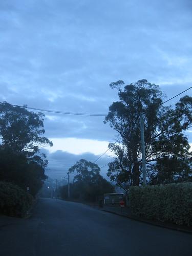 Nelson Rd, 7.30am.