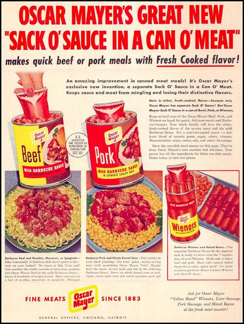 Sack o' Sauce, Can o' Meat