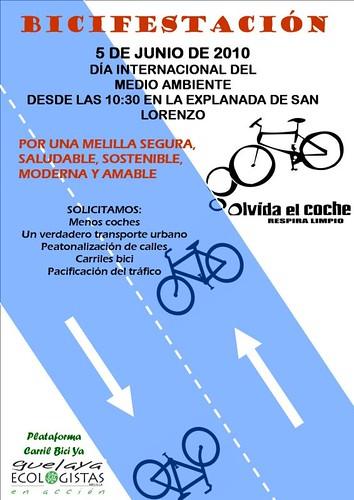 cartel bicifestación