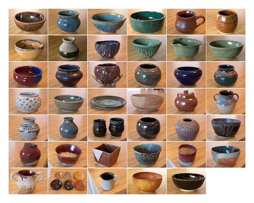 more pottery