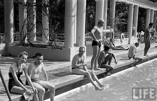 SAÏGON 1948 - La Piscine du Cercle Sportif