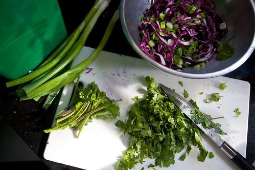 cilantro chop
