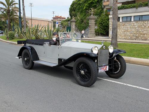 1922 Lancia Lambda. Lancia Lambda VII Serie