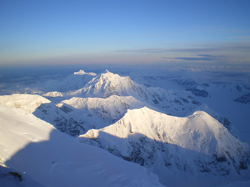 Mt. Hunter from basecamp on McKinley