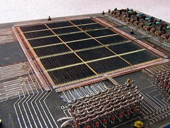 Core memory -- Disassembled covering