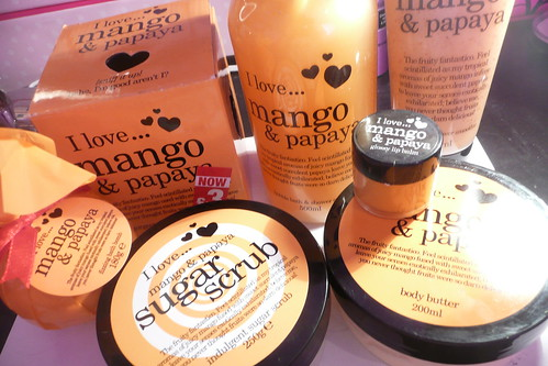 I Love Mango & Papaya items