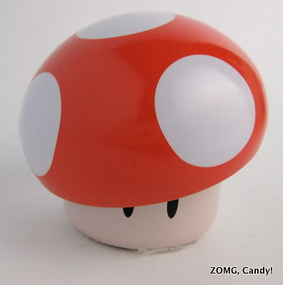 Nintendo Mushroom Sour Candy