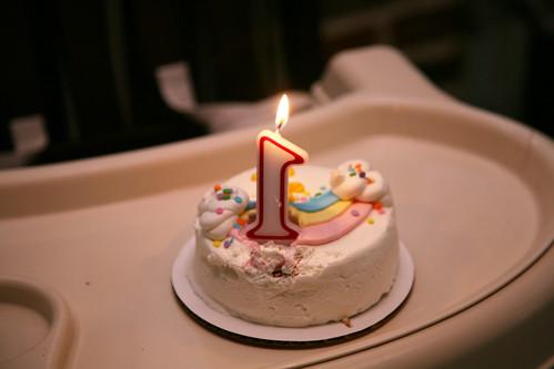 Henry James 1st Birthday