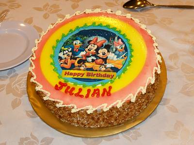 Julian's birthday cake
