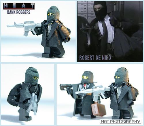 HEAT Robert De Niro custom minifig