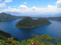 Ecuador+Crater+Lake