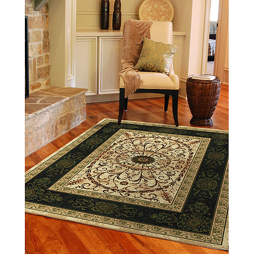 Country & Floral Woven Area Rug 125.00