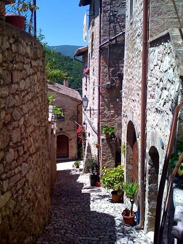 Vallo di Nera via san Giovanni Valnerina scorci umbri