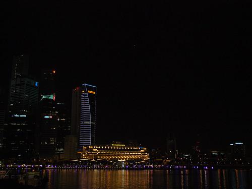 新加坡河夜景