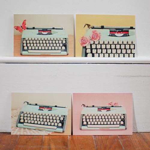 Postcard Set - The Typewriter