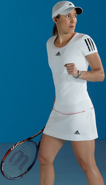 Justine Henin Wimbledon 2010 outfit