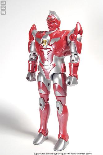 Superhuman Samurai Syber-Squad - 9inch Neutron Armor Servo