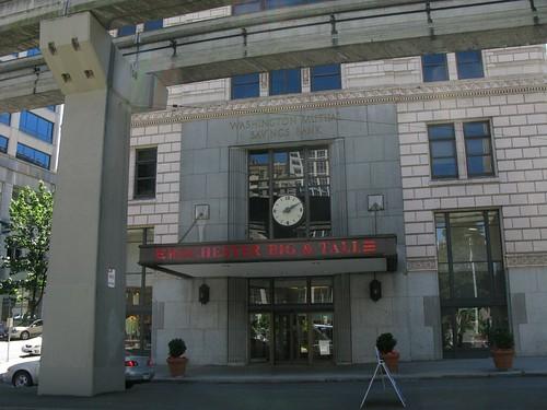 Times Square Facade Clock