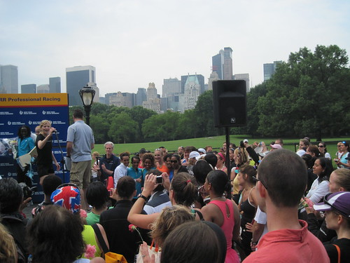 Photo Op in NYC - Paula Radcliffe