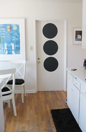 Kitchen+Laundry Room+Chalkboard Dots+removable chalkboard decal -3