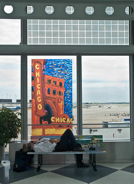 Ohare International Airport in Chicago