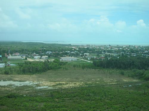 Leaving Belize City