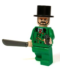 Lord Byron (*Nobodycares*) Tags: lego worldwarii weapon pistol guns machete gentleman picnik resistance partizan brickarms weirdwarii