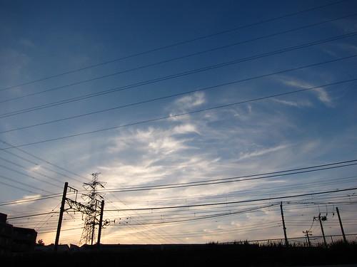 Sky / Cloud / Wire